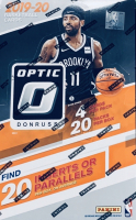 2019-20 Donruss Optic Basketball Retail Box with (20) Packs & (4) Cards Each at PristineAuction.com