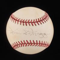Dom DiMaggio Signed OAL Baseball (JSA COA) at PristineAuction.com