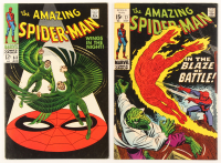 """Lot of (2) """"The Amazing Spider-Man"""" Marvel Comic Books at PristineAuction.com"""