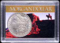1900 Morgan Silver Dollar with Western Holder at PristineAuction.com