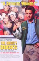 "Emilio Estevez Signed ""The Mighty Ducks"" 11x17 Photo (Schwartz COA) at PristineAuction.com"