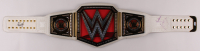 "The Rock & Paige Signed WWE Women's Wrestling Championship Belt Inscribed ""My House"" (PSA Hologram) at PristineAuction.com"