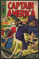 "1968 ""Captain America"" Issue #108 Marvel Comic Book at PristineAuction.com"