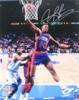 Dennis Rodman Signed Pistons 16x20 Photo (Schwartz COA) at PristineAuction.com