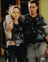 "Brad Pitt & Angelina Jolie Signed ""Mr. & Mrs Smith"" 11x14 Photo (PSA Hologram) at PristineAuction.com"