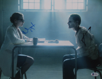 "Margot Robbie & Jared Leto Signed ""Suicide Squad"" 11x14 Photo (Beckett Hologram) at PristineAuction.com"