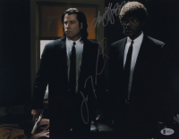"John Travolta & Samuel L. Jackson Signed ""Pulp Fiction"" 11x14 Photo (Beckett Hologram) at PristineAuction.com"