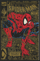 "1990 ""Spider-Man"" Gold Issue #1 Marvel Comic Book at PristineAuction.com"