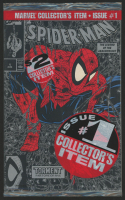 """1990 """"Spider-Man: Silver Edition"""" Issue #1 Factory Sealed First Issue Marvel Comic Book at PristineAuction.com"""
