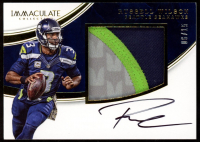 Russell Wilson 2016 Immaculate Collection Premium Patch Autographs #42 at PristineAuction.com