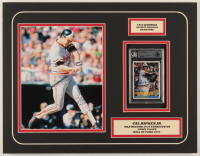 Cal Ripken Jr. Signed Orioles 14x18 Custom Matted 1984 Donruss #106 Baseball Card Display (BGS Encapsulated) at PristineAuction.com