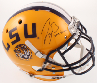 "Joe Burrow Signed LSU Tigers Full-Size Authentic On-Field Helmet Inscribed ""2019 Heisman"" (Beckett COA) at PristineAuction.com"