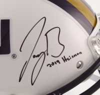 """Joe Burrow Signed LSU Tigers Full-Size Authentic On-Field Helmet Inscribed """"2019 Heisman"""" (Beckett COA) at PristineAuction.com"""
