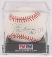 "Rod Carew Signed OAL Baseball with Display Case Inscribed ""HOF 7/4/91"" (PSA COA) at PristineAuction.com"