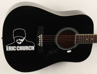 """Eric Church Signed 38"""" Acoustic Guitar (JSA COA) at PristineAuction.com"""