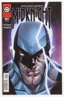 """Tom Hodges Signed """"Midknight"""" Issue #1 Antiis Comics Comic Book (PA COA) at PristineAuction.com"""