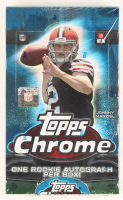2014 Topps Chrome Football Box with (24) Packs at PristineAuction.com