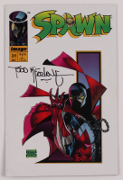 """Todd McFarlane Signed 1994 """"Spawn"""" Issue #21 Comic Book (JSA COA) at PristineAuction.com"""