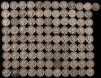 Lot of (100) Mercury Dimes at PristineAuction.com