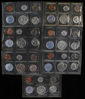 Lot of (7) United States Mint Proof Sets with (2) 1961, 1962, 1963, & (2) 1964 at PristineAuction.com