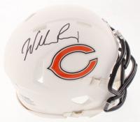 William Perry Signed Bears Matte White Speed Mini-Helmet (Schwartz Sports COA) at PristineAuction.com