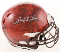 Nick Chubb Signed Browns Full-Size Authentic On-Field Hydro Dipped Helmet (JSA COA) at PristineAuction.com