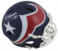 DeAndre Hopkins Signed Texans Full-Size AMP Alternate Speed Helmet (Beckett COA) at PristineAuction.com