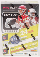 2019 Donruss Optic Football Box with (6) Packs at PristineAuction.com