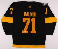 Evgeni Malkin Signed Penguins 2019 Stadium Series Jersey (JSA COA) at PristineAuction.com