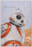 "Thang Nguyen - BB-8 - ""Star Wars"" - Signed 24"" x 36"" Original Oil Painting on Canvas at PristineAuction.com"