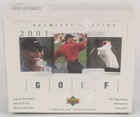 2001 Upper Deck Golf Unopened Box with (24) Packs at PristineAuction.com