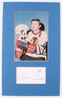 Stan Mikita Signed Blackhawks 7x11.25 Custom Matte Cut Display (JSA COA) at PristineAuction.com