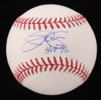 "Jim Palmer Signed OML Baseball Inscribed ""HOF 90"" (JSA COA) at PristineAuction.com"