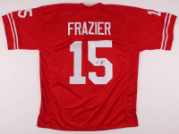 Tommie Frazier Signed Jersey (JSA COA) at PristineAuction.com