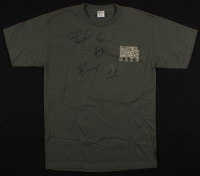 The Dave Matthews Band Shirt Band-Signed by (5) with Dave Matthews, Boyd Tinsley, LeRoi Moore, Carter Beauford & Stefan Lessard (Beckett LOA) at PristineAuction.com