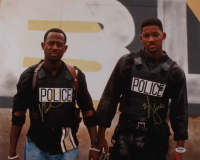 "Will Smith & Martin Lawrence Signed ""Bad Boys"" 16x20 Photo (PSA Hologram) at PristineAuction.com"
