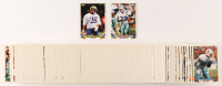 1993 Topps Series 1 Complete Set of (330) Football Cards with #120 Emmitt Smith, #166 Jerome Bettis RC at PristineAuction.com