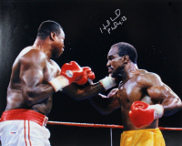 Evander Holyfield Signed 16x20 Photo (PSA COA) at PristineAuction.com