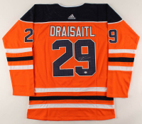 Leon Draisaitl Signed Oilers Jersey (PSA COA) at PristineAuction.com