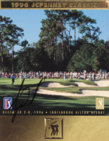 Tiger Woods Signed 1996 JCPenney Classic Golf Program (JSA LOA) at PristineAuction.com