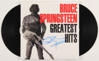 "Bruce Springsteen Signed ""Greatest Hits"" Vinyl Record Album Cover (JSA LOA) at PristineAuction.com"