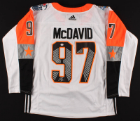 Connor McDavid Signed Oilers 2018 NHL All-Stars Captains Jersey (PSA COA) at PristineAuction.com