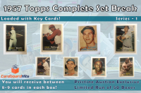 Cardboard Hits 1957 Complete Set Mystery Box (8-9 Cards per Box) at PristineAuction.com