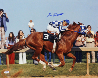 Ron Turcotte Signed 16x20 Photo (PSA COA) at PristineAuction.com