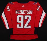 Evgeny Kuznetsov Signed Capitals Jersey (JSA COA) at PristineAuction.com