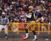 Brett Favre Signed Packers 16x20 Photo (PSA COA & Favre Hologram) at PristineAuction.com