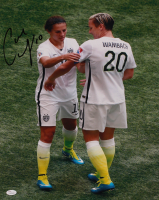 Carli Lloyd Signed Team USA 16x20 Photo (JSA COA) at PristineAuction.com