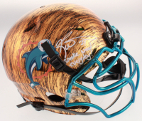 "Ricky Williams Signed Dolphins Full-Size Authentic On-Field Hydro-Dipped Vengeance Youth Helmet Inscribed ""Smoke Weed Everyday"" (JSA Hologram) at PristineAuction.com"