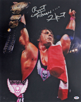 "Bret ""Hitman"" Hart Signed WWE 16x20 Photo (PSA COA) at PristineAuction.com"