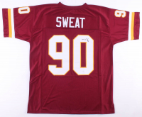 Montez Sweat Signed Jersey (JSA COA) at PristineAuction.com